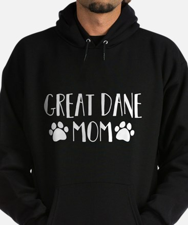 Great Dane Mom Hoodie (dark)