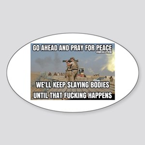 If you want peace then you must prepare fo Sticker