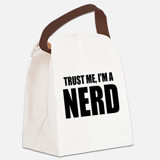 Trust Me, I'm A Nerd Canvas Lunch Bag