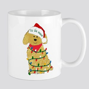 Christmas Goldendoodle Mugs