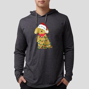 Christmas Goldendoodle Long Sleeve T-Shirt