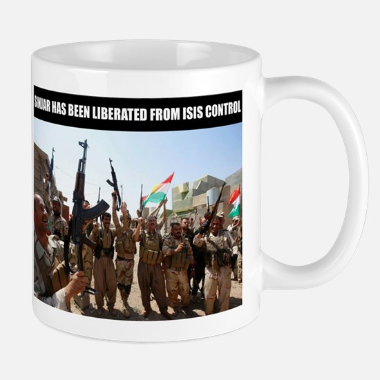 Mount Sinjar has been liberated by the Kurds Mugs