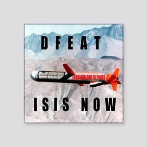 Defeat ISIS Now Sticker