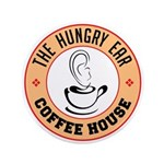 Hungry Ear Coffee House Button