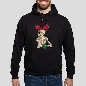 skeleton nightmare christmas Hoodie (dark)