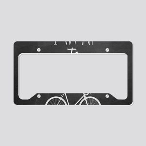 Bicycle License Plate Holder