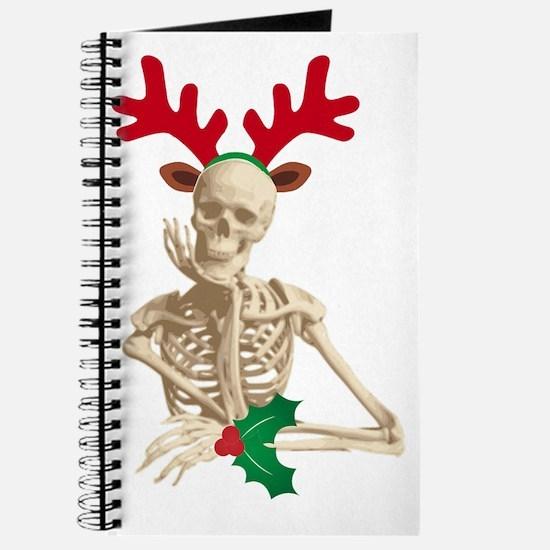 skeleton nightmare christmas Journal