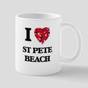 I love St Pete Beach Florida Mugs