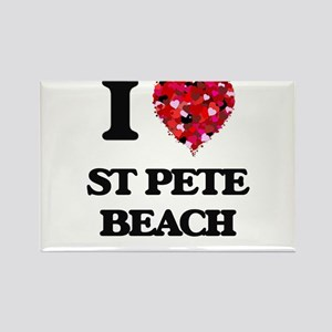 I love St Pete Beach Florida Magnets