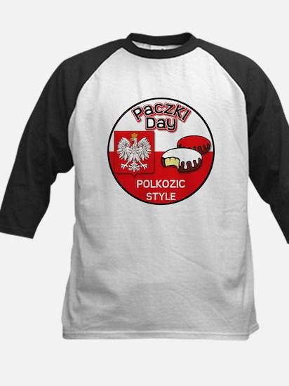 Polkozic Kids Baseball Jersey