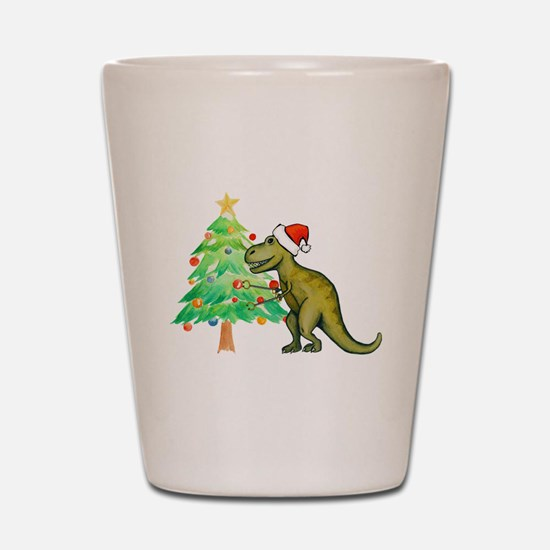 Funny Dino Shot Glass