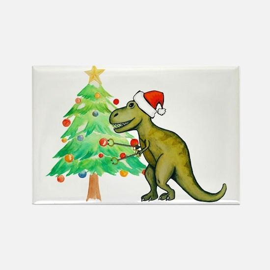 Cute Tyrannosaurus rex Rectangle Magnet