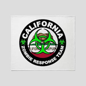CA ZRT Green Throw Blanket