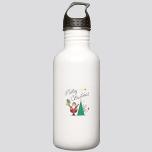 Merry Christmas Stainless Water Bottle 1.0L