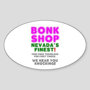 BONK SHOP - NEVADA'S FINEST! Sticker