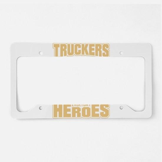 trucker License Plate Holder