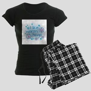 I like warm hugs Women's Dark Pajamas