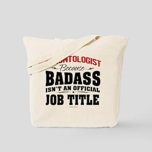 Badass Gerontologist Tote Bag