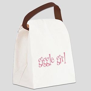 gigglegirl Canvas Lunch Bag