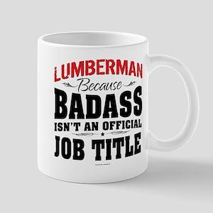 Badass Lumberman Mugs