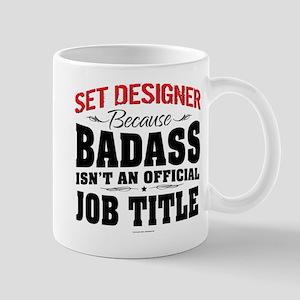 Badass Set Designer Mugs