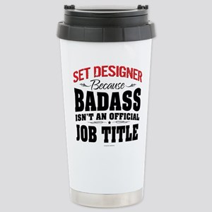Badass Set Designer Stainless Steel Travel Mug