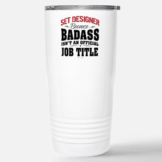 Badass Set Designer Stainless Steel Travel Mug