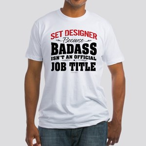 Badass Set Designer T-Shirt