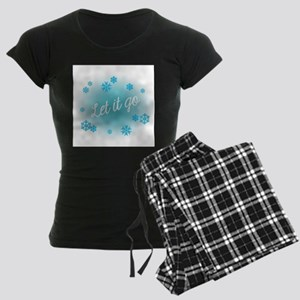 Let it go Women's Dark Pajamas