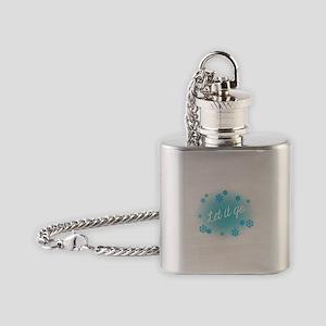 Let it go Flask Necklace