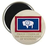 Wyoming Proud Citizen Magnet