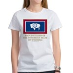Wyoming Proud Citizen Women's T-Shirt