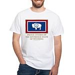 Wyoming Proud Citizen White T-Shirt