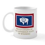 Wyoming Proud Citizen Mug