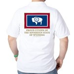 Wyoming Proud Citizen Golf Shirt