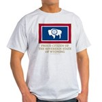 Wyoming Proud Citizen Light T-Shirt