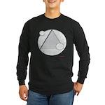 UFO Extraterrestrial Alie Long Sleeve Dark T-Shirt