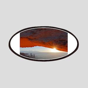 Sun Kissing Mesa Arch Patch
