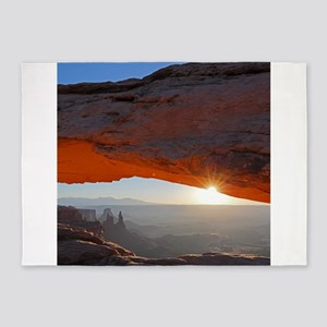 Sun Kissing Mesa Arch 5'x7'Area Rug