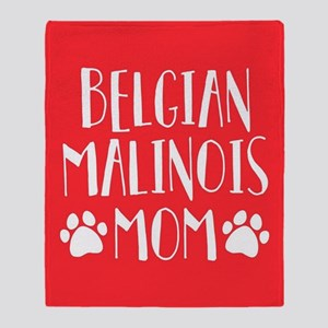 Belgian Malinois Mom Throw Blanket