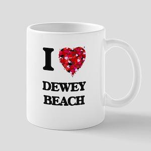 I love Dewey Beach Delaware Mugs