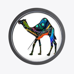 CAMEL IMMACULATE Wall Clock