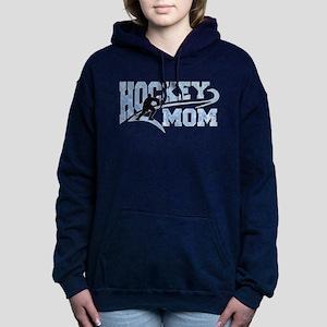 Hockey Mom Athletic Tail Women's Hooded Sweatshirt