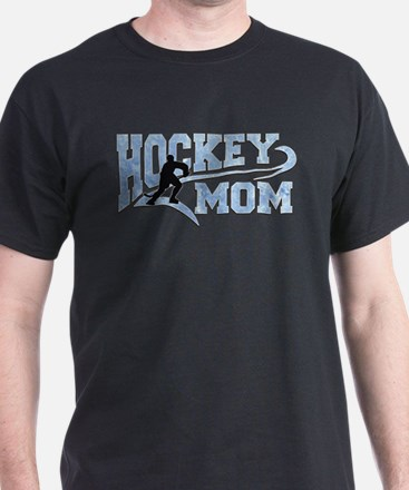 Hockey Mom Athletic Tail T-Shirt