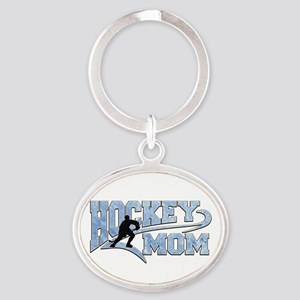 Hockey Mom Athletic Tail Keychains