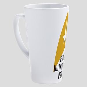 Star Trek - Normal Parameters 17 oz Latte Mug