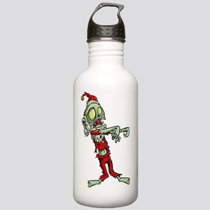 zombie christmas santa Stainless Water Bottle 1.0L