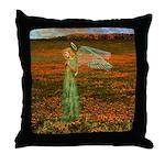 #119 Angel : Throw Pillow