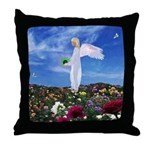 May Angel : Throw Pillow