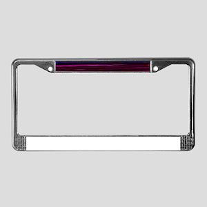 PERPLE REIGHN License Plate Frame